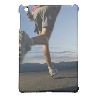 Man in athletic gear running iPad mini cases
