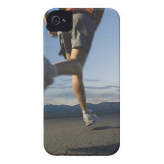 Man in athletic gear running iPhone 4 case