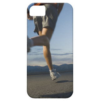 Man in athletic gear running iPhone 5 cases