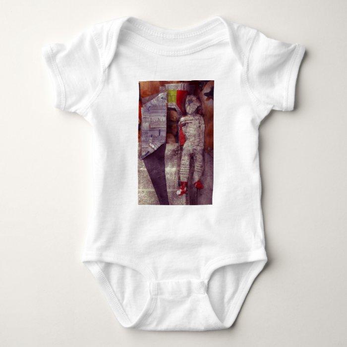 Man In Doorway Baby Bodysuit
