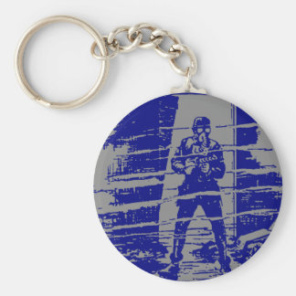 Man in Doorway Keychain