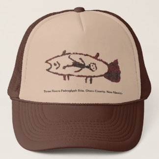 Man in Fish, Fish Image 2 Hat