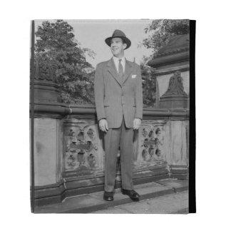 Man in Hat iPad Folio Cases