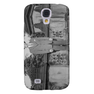Man in Hat Galaxy S4 Cover