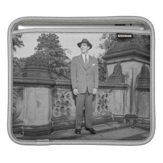 Man in Hat iPad Sleeve