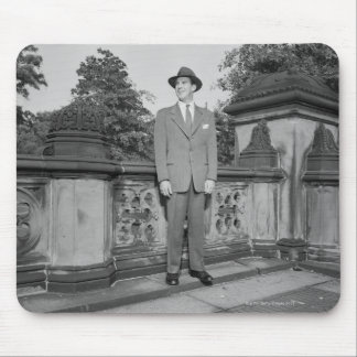 Man in Hat Mouse Pad