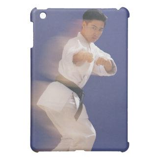 Man in karate stance iPad mini cover