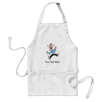 Man in Love Funny Valentines Gifts Adult Apron