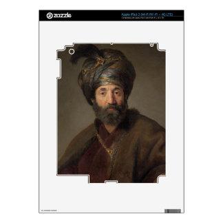 Man in Oriental Costume, c.1635 (oil on canvas) iPad 3 Skins