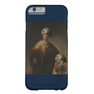 Man in Oriental Costume with Wimsey the Bloodhound Barely There iPhone 6 Case