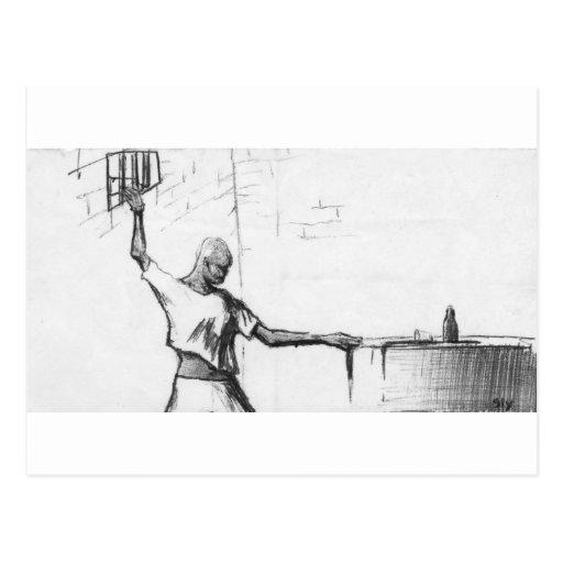 Man in Prison Postcards