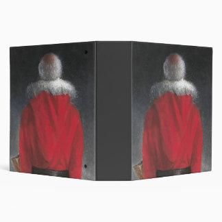 Man in Red Coat Binder
