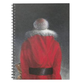 Man in Red Coat Notebook