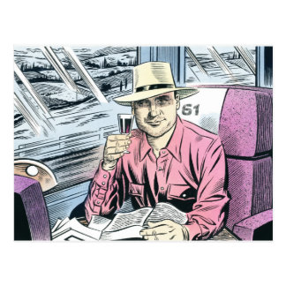 Man in Seat 61 postcards... Postcard