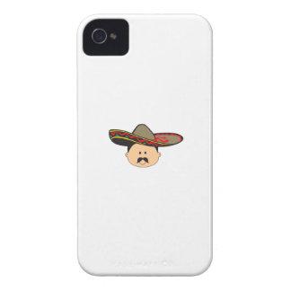 MAN IN SOMBRERO iPhone 4 COVERS