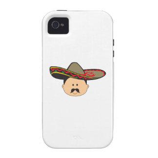 MAN IN SOMBRERO iPhone 4/4S COVER