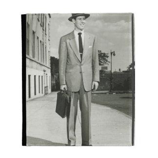 Man in Suit iPad Folio Case