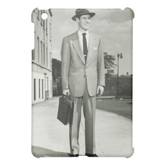Man in Suit Case For The iPad Mini