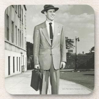 Man in Suit Coaster