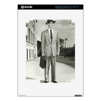 Man in Suit Decal For iPad 3