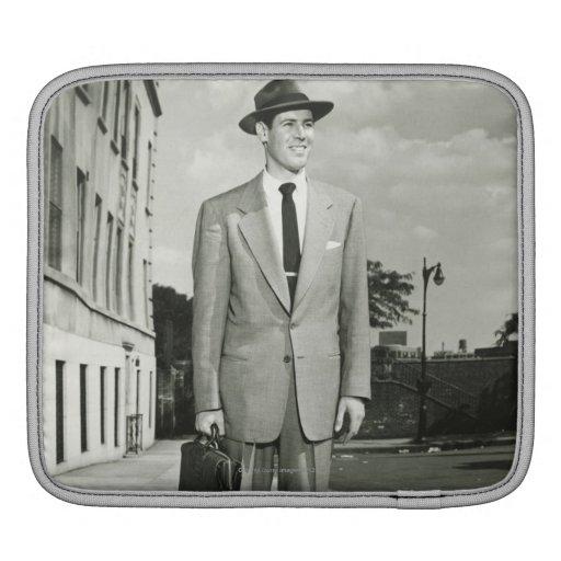 Man in Suit iPad Sleeves