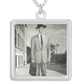 Man in Suit Custom Jewelry