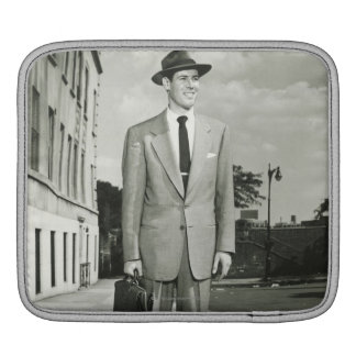 Man in Suit Sleeve For iPads