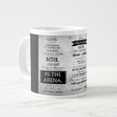 Man In The Arena Mug at Zazzle
