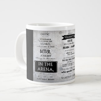 Man In The Arena Mug