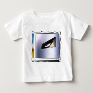 Man in the Mask (comic panel, no text) Baby T-Shirt