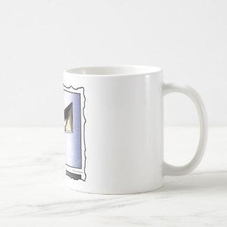 Man in the Mask (comic panel, no text) Coffee Mug