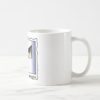 Man in the Mask (comic panel + text) Coffee Mug