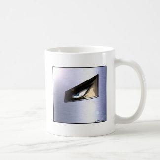 Man in the Mask (simple) Coffee Mug