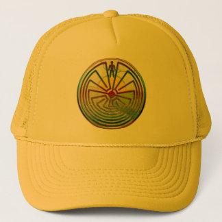 MAN IN THE MAZE landscape + your background Trucker Hat