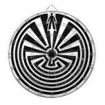 Man in the Maze, Native Americans, Itoi, Papago Dart Board