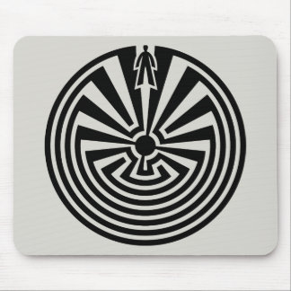 Man in the Maze, Native Americans, Itoi, Papago Mouse Pad