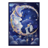 Man-in-the-Moon, and Angel Card