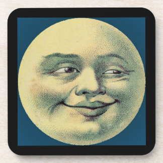 """Man in the Moon"" Coaster"
