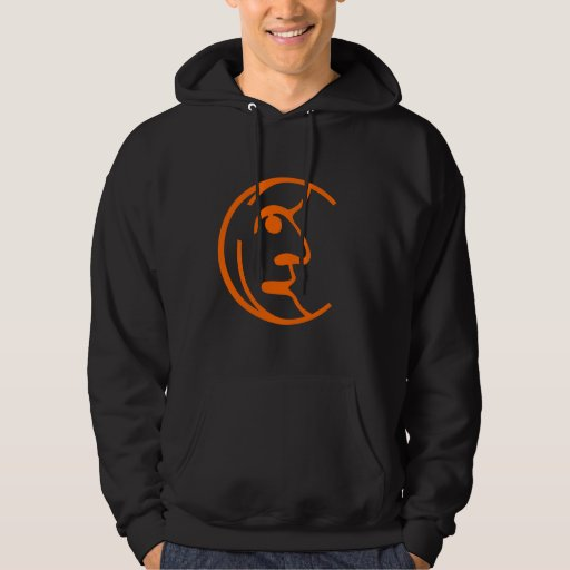 Man in the Moon Hooded Pullover