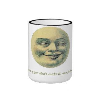Man in the moon inspirational mug