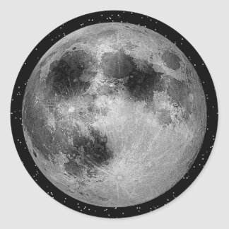 Man in the Moon - Muliple Products2 Classic Round Sticker