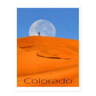 man in the moon postcard
