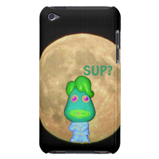 """Man in the Moon says, """"Sup?"""" iPod Touch Case"""