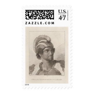 Man in the Sandwich Islands Postage