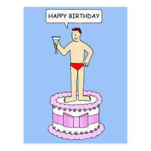 Cool Sexy Man Birthday Gifts On Zazzle Funny Birthday Cards Online Fluifree Goldxyz