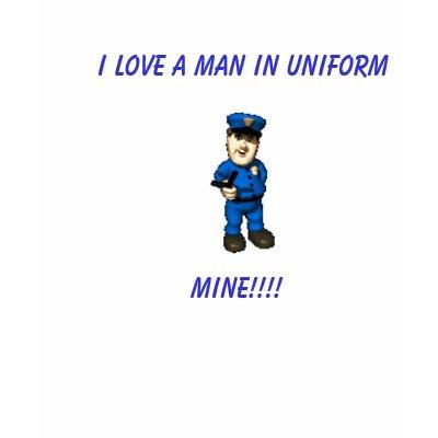 love a man in uniform
