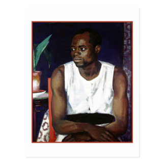 Man in White by Francis Cadell Postcard