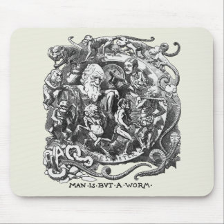 Man Is But A Worm Mouse Pad