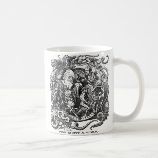 Man Is But A Worm Coffee Mugs