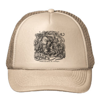 Man Is But A Worm Trucker Hat